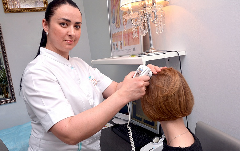 лечение выпадения волос в москве